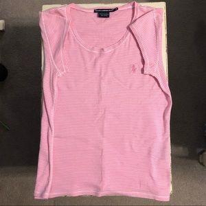 Polo Ralph Lauren sport women's pink tee